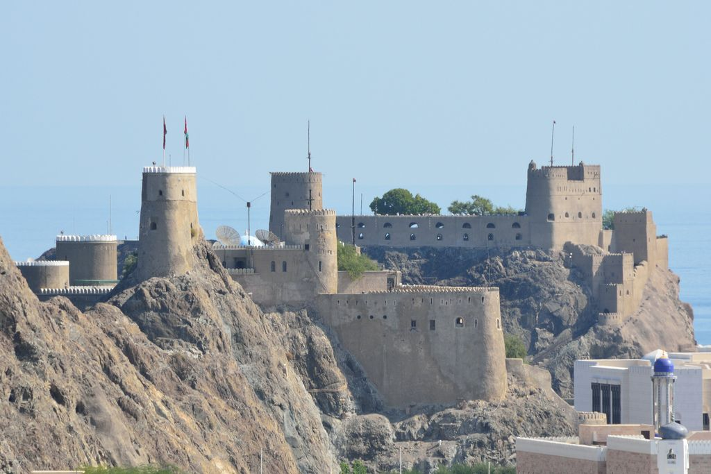 Al Minari Fort | Muscat. view on Fb https://www.facebook.com/OmanPocketGuide  credit: Tristan Schmurr