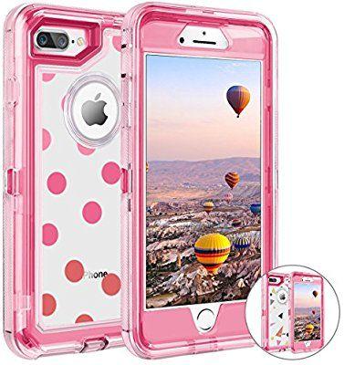 dd6c18e787 Amazon.com: iPhone 8 Plus Case, iPhone 7 Plus Case, Coolden 3D ...