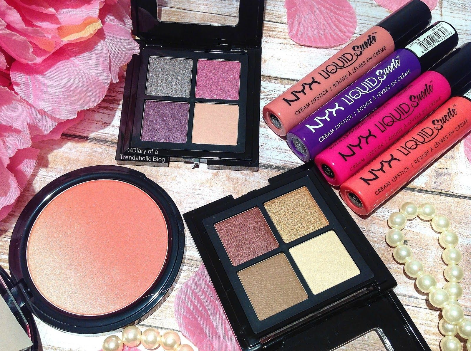 New Nyx Full Throttle Shadow Palette Review Swatches Check Out