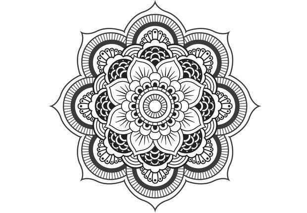 Comment Faire Un Coloriage Anti Stress.Coloriage Anti Stress Et Mandala Gratuits Pour Adulte