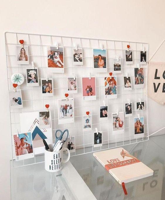 Photo of 39 Creative DIY Photo Frames Make Your Home Unique Diy decor for home, home deco…