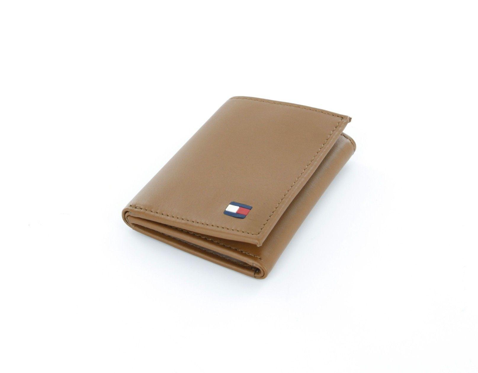 محافظ رجالية تومي هيلفيغر حراج Tommy Hilfiger Wallet Leather Leather Trifold Wallet