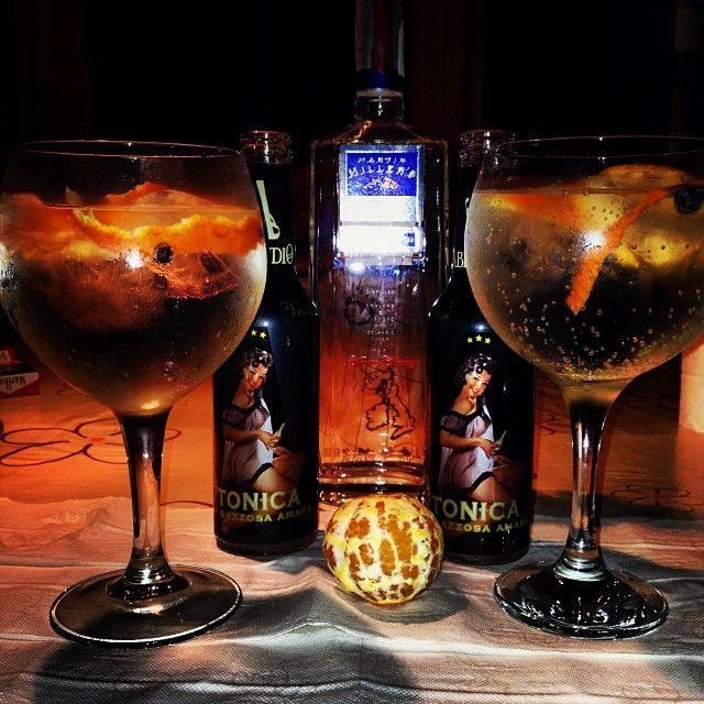 #Gin Martin Millers with Tonica #abbondio  #twistdemanadarina