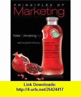 Principles of marketing kotler pdf e-books free
