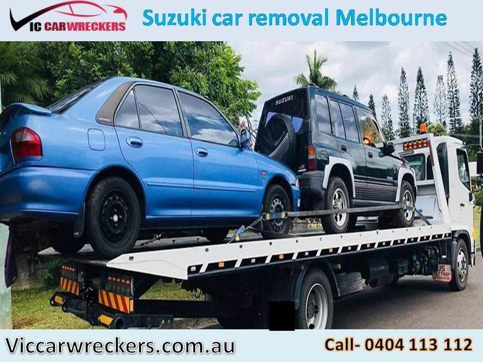 Suzuki car removal Melbourne. Suzuki wreckers. Cash for