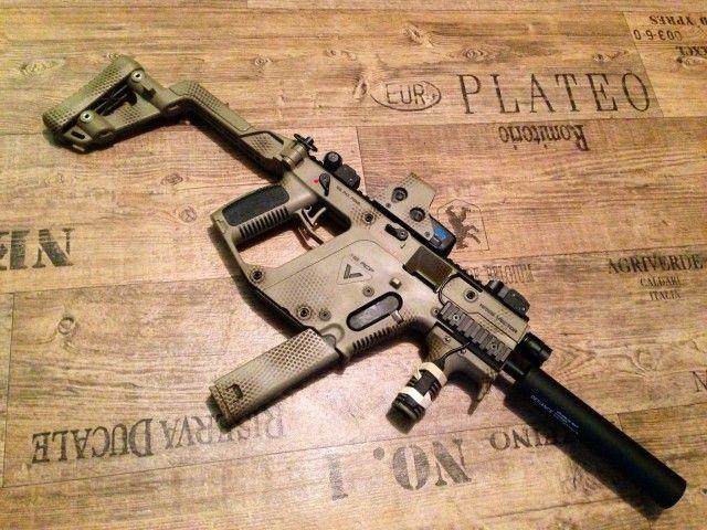Kriss Vector Snakeskin pattern paintjob | Rifles/Shotguns