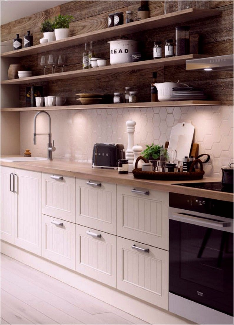 Kitchen Storage Shelves Ikea Small Kitchen Storage Ideas Pinterest Caravan Kitchen Storage Ideas Uk Country Kitchen Home Kitchens Kitchen Design