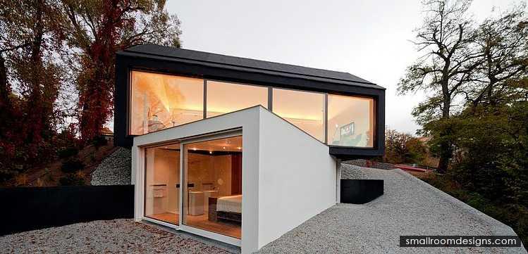Fabi Architekten black on white by fabi architekten http smallroomdesigns com