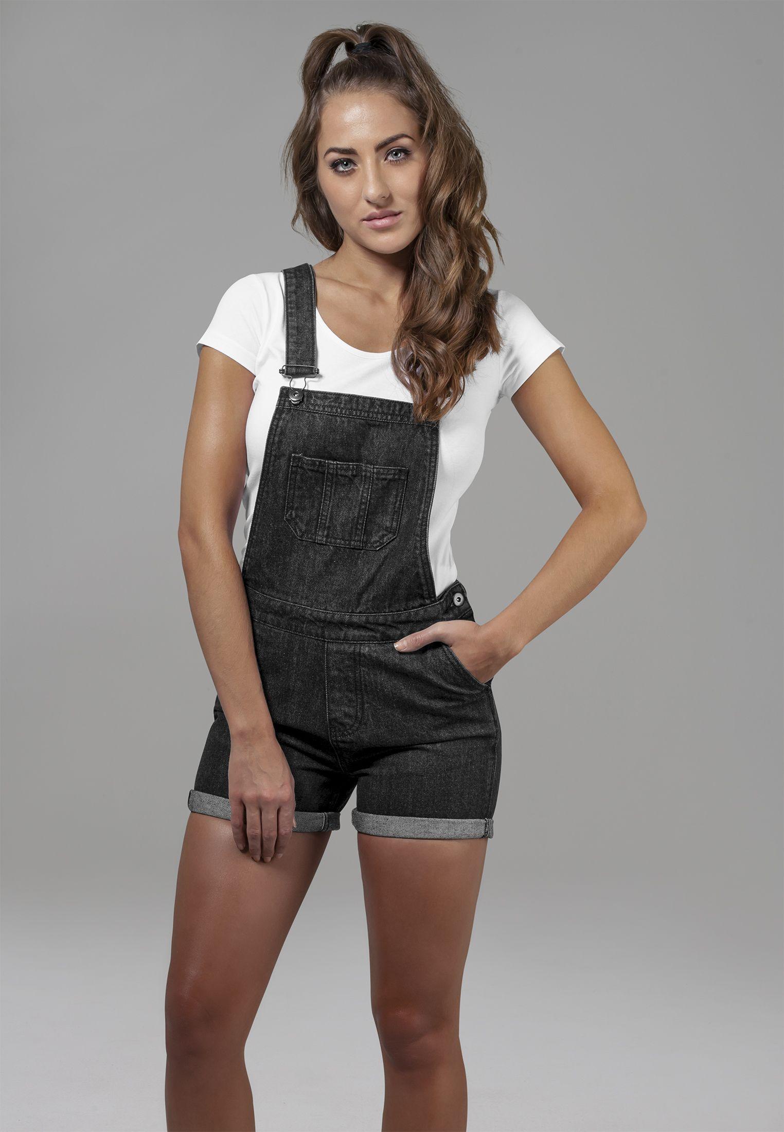 7f629dd8aa Ladies Short Dungaree Damen Overall   04053838151938 - Damen Anzüge ...