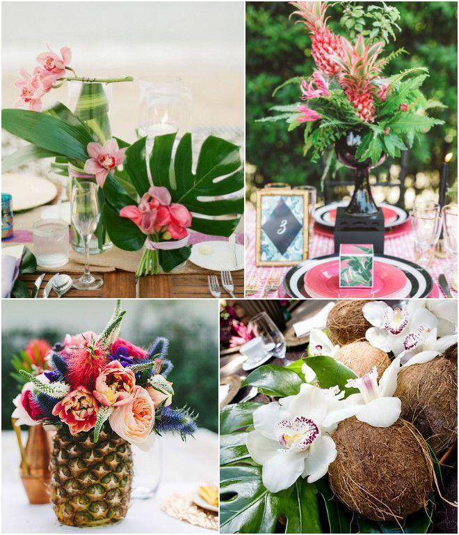 Matrimonio Tema Tropical : Boda tropical decora tu pinterest