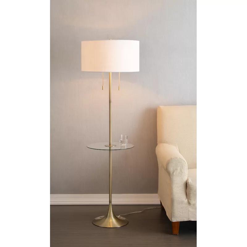 Lisane Floor Lamp Floor Lamp Living Room Floor Lamp Accent Lamp Traditional Floor La Country Floor Lamps Shabby Chic Lamp Shades Shabby Chic Floor Lamp