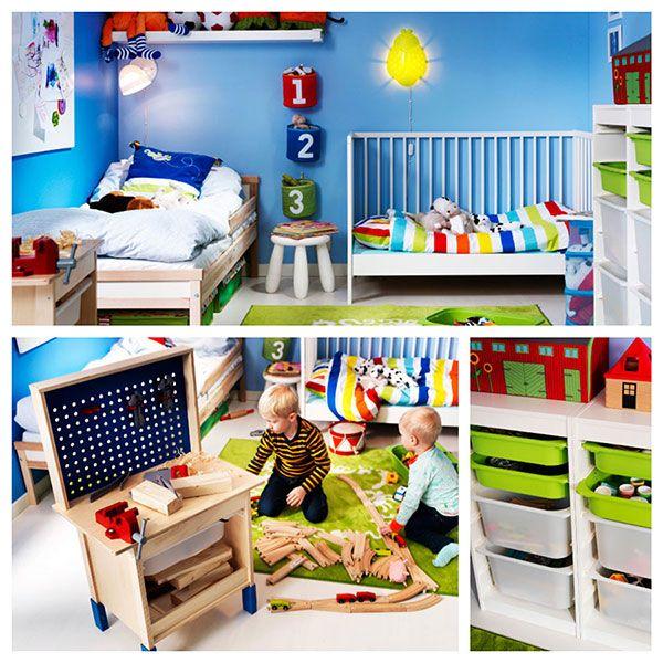 Habitacion infantil ni os ikea pintandounamama for Habitaciones infantiles dobles ikea