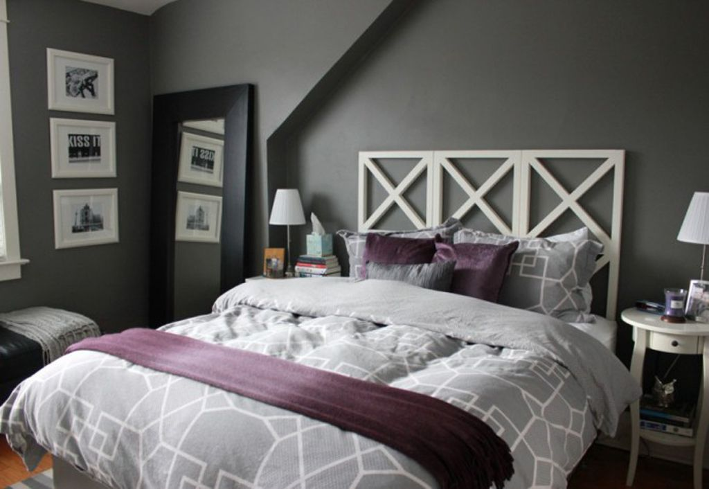 Gray And Purple Decorating Ideas Purple Gray Master Bedroom Ideas Home Interior Decor Ideas