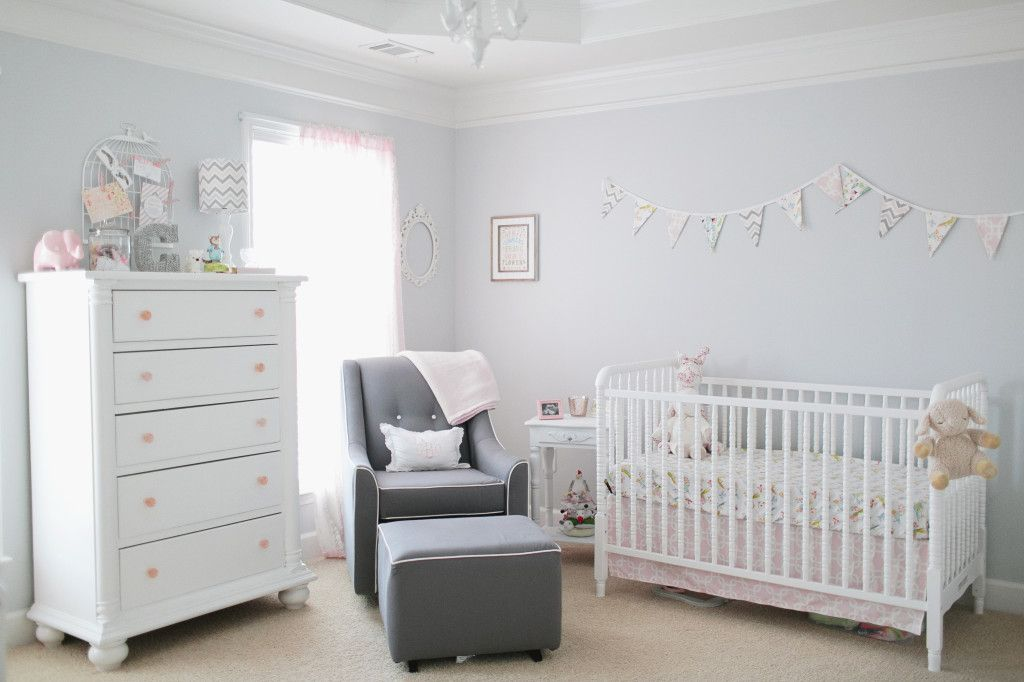 Sweet Carolines Nursery Nursery Bright Nursery And Project Nursery - Light pink nursery decor