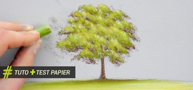 technique utile pour apprendre peindre un arbre au. Black Bedroom Furniture Sets. Home Design Ideas