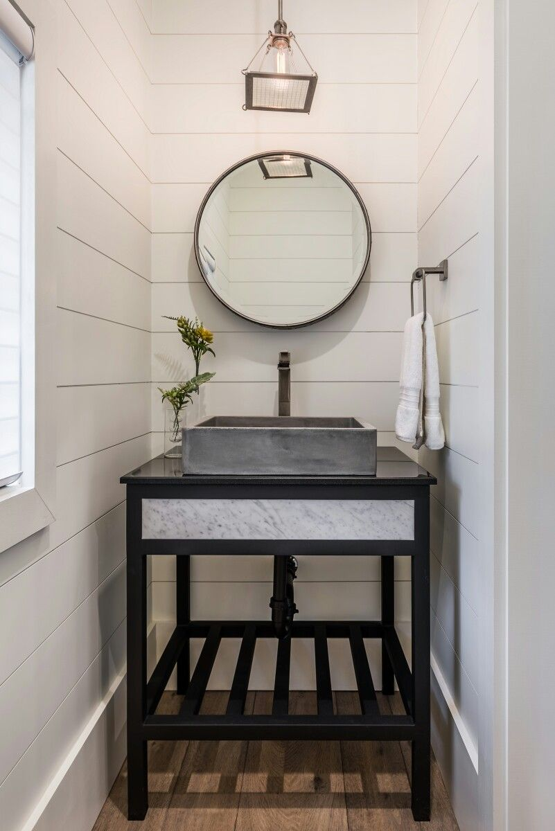 Powder Room Bathroom decoration ideas - Photo wrightdesignllc.com #powderroom #bathroomdecor #banyodekorasyonu #dekorasyonfikirleri #dekorasyonstilleri #ideas #pinterest #bathroom #banyo #bathroomdecor #banyodekorasyonu