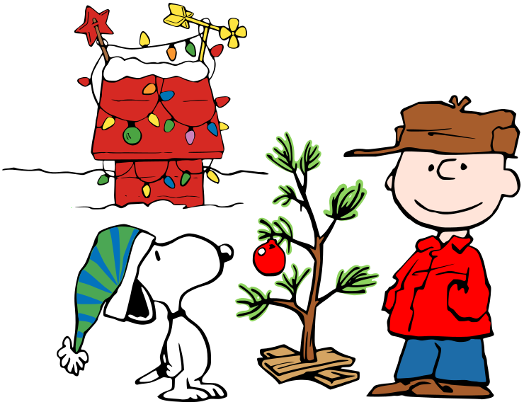 charlie brown christmas clipart Snoopy christmas images