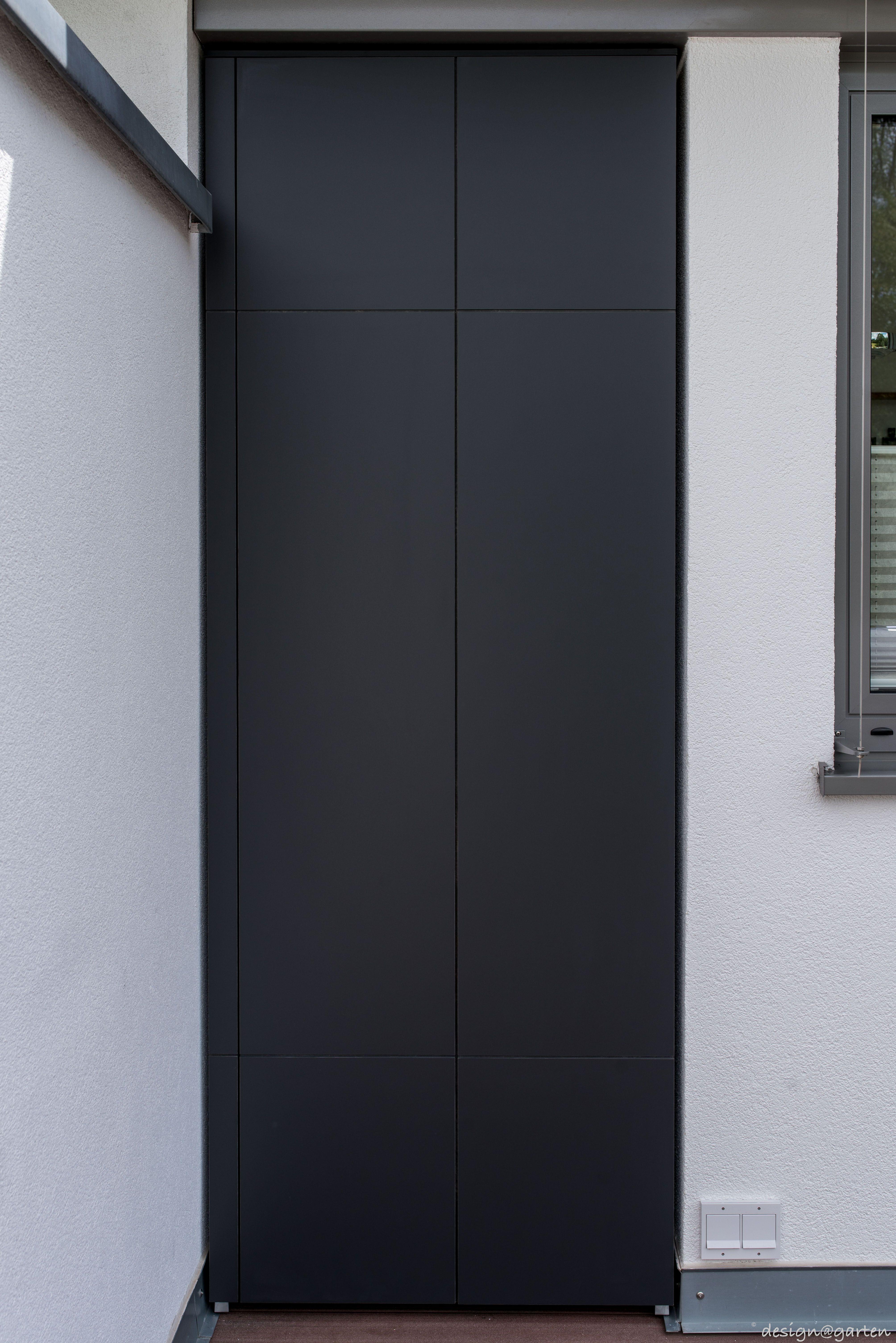 terrassenschrank nach ma wetterfest uv best ndig farbe anthrazit by design garten. Black Bedroom Furniture Sets. Home Design Ideas