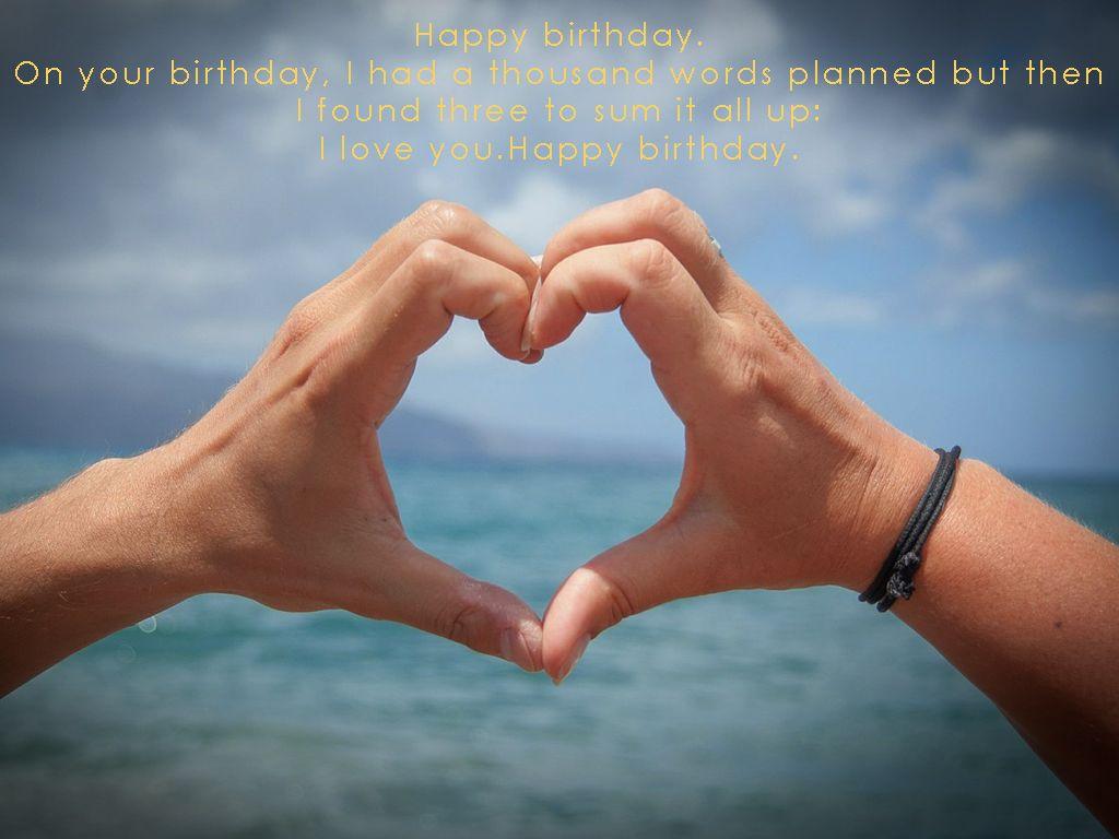 Best romantic birthday wishes images happy