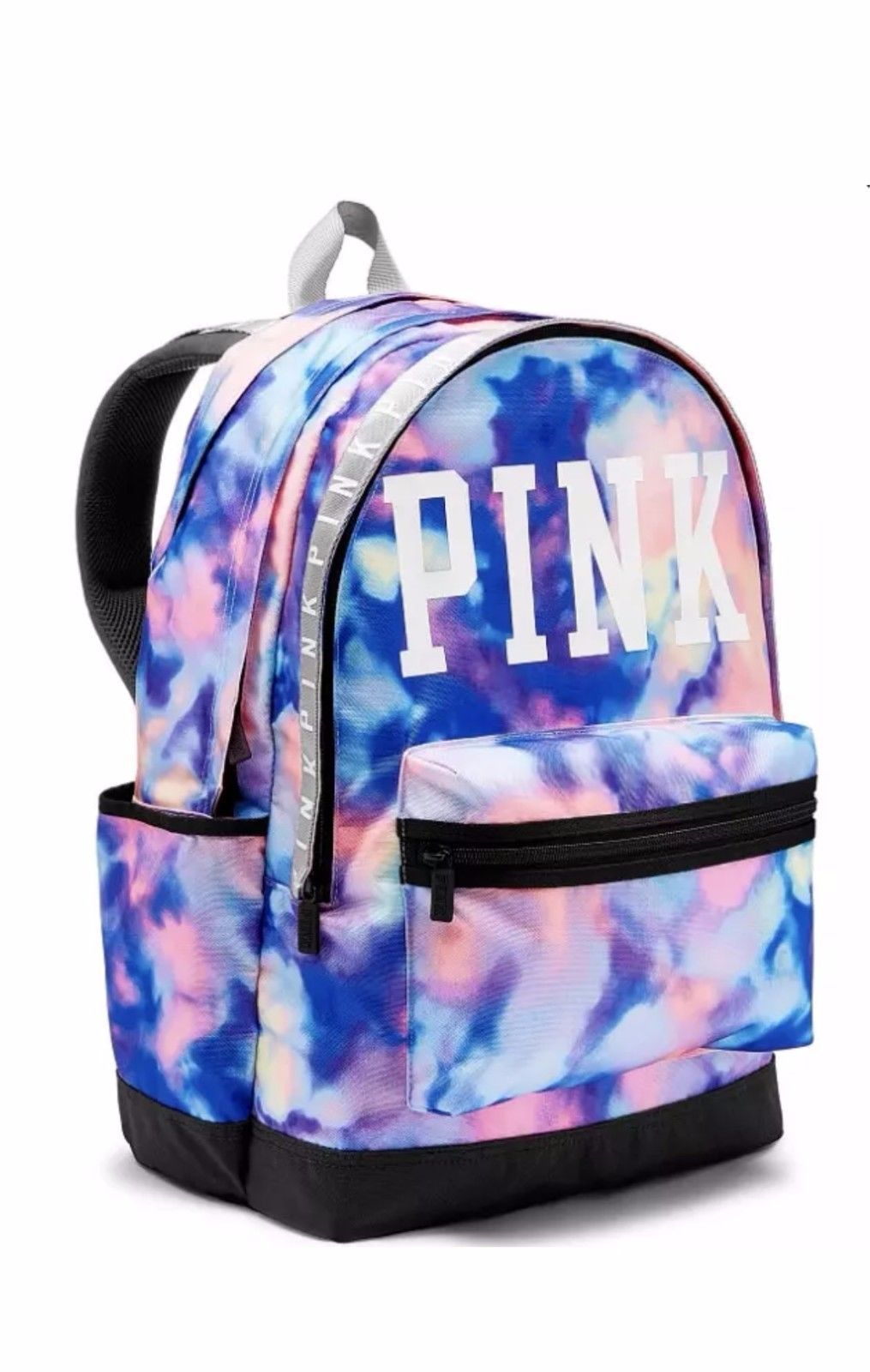 Victoria S Secret Vs Pink Tie Dye Tye Campus Backpack Bookbag Nwt