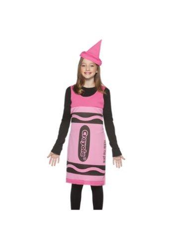 Cool Funny Costumes - Tween Pink Crayon Dress just added - halloween costume ideas for tweens