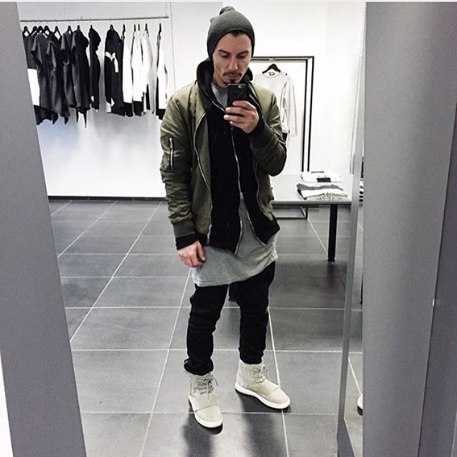 Outfit. Yeezy Boost 750.  88a2f1612d8a