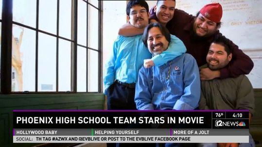 George Lopez Movie About Carl Hayden Robotics Team Premieres In