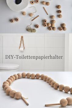 DIY Holzkugel Toilettenpapierhalter | Blick7