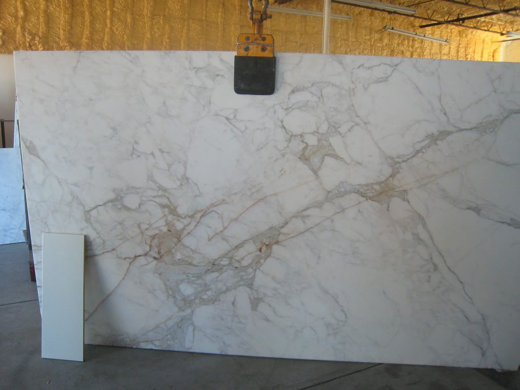 Almost Finished White Marble Soapstone Calacatta Gold Quartzite Countertops Stone Interior