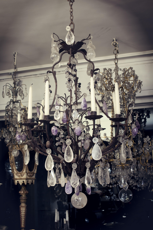 photo crystal in rock chandeliers schonbek diy fantastic epic elegant modern funky chandelier ideas