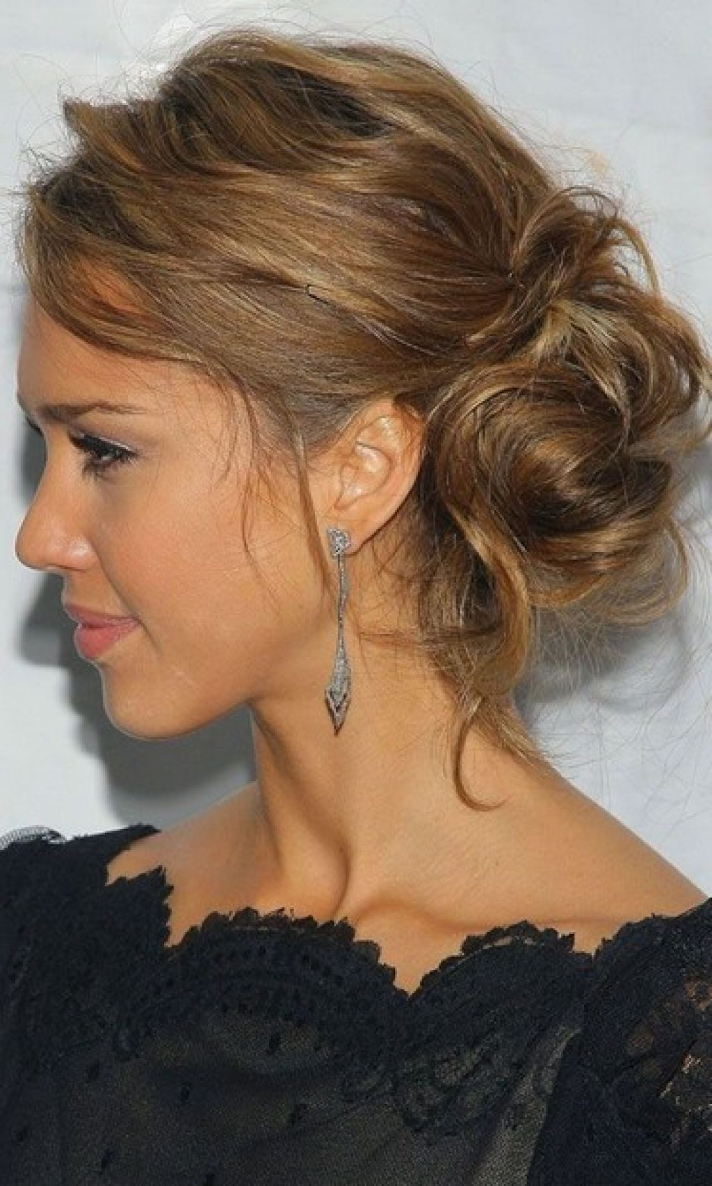 Beautiful Messy Updo Hairstyles Side View Hair Makeup