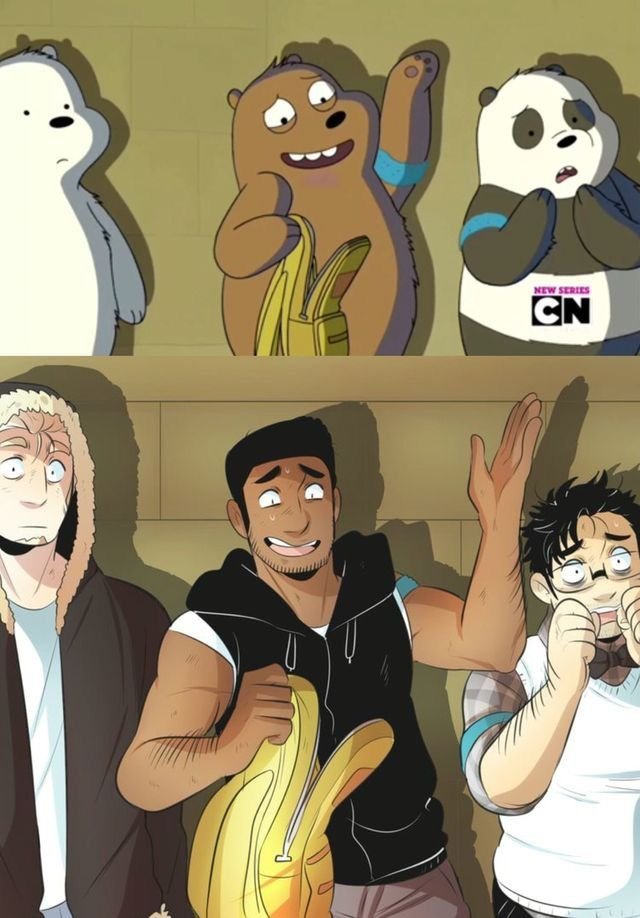 Pin By Astro Uchiha On Cartoon Random Into Anime We Bare Bears Human Anime Cartoon