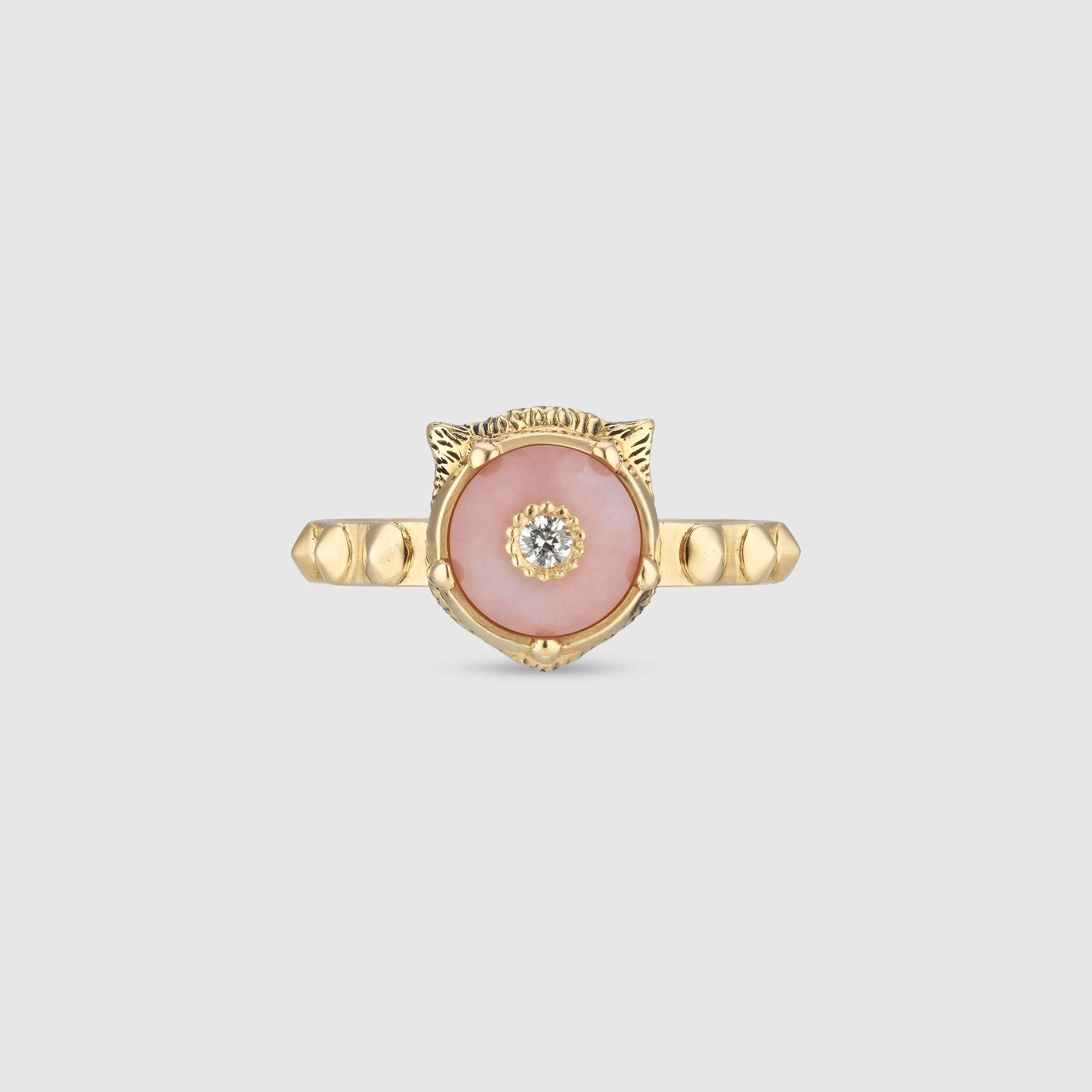 1c7e47a4935 Le Marché des Merveilles ring in 18k yellow gold