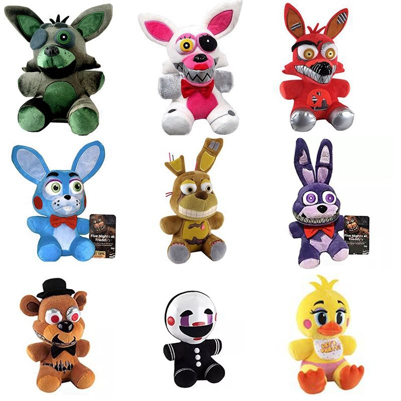 Koala Stuffed Animals Mini, Five Nights At Freddy Plush Stuffed Toys Plush Dolls Fox Toys Animal Plush Toys