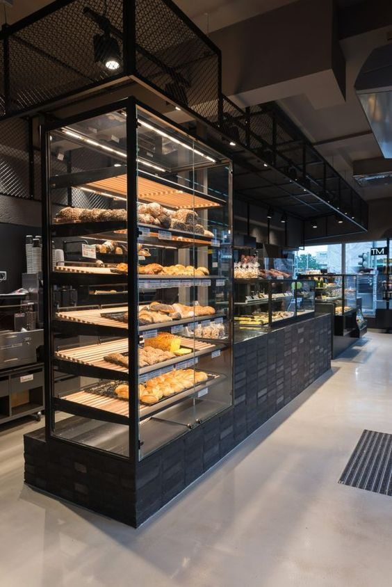 Studio karhard in hannover bakery display pinterest for Interior design hannover