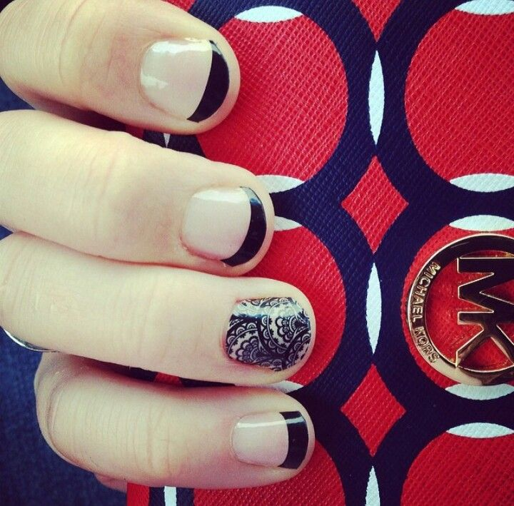 Fancy Jamberry Nails Short Nails Crest - Nail Paint Design Ideas ...