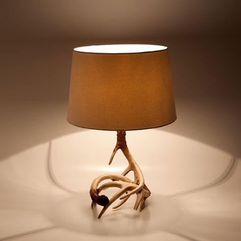 lamp met hoorns lampen zara home netherlands want in. Black Bedroom Furniture Sets. Home Design Ideas