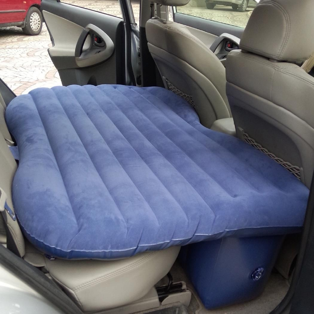 Portable Travel Car Back Seat Sleep Rest Inflatable Mattress Air