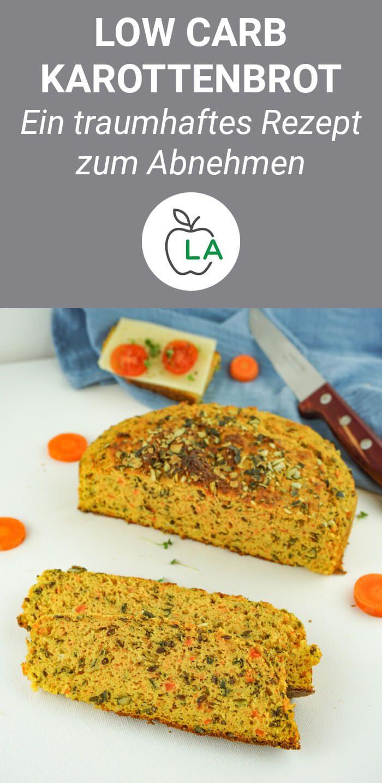 Saftiges Low Carb Karottenbrot Brot Ohne Kohlenhydrate