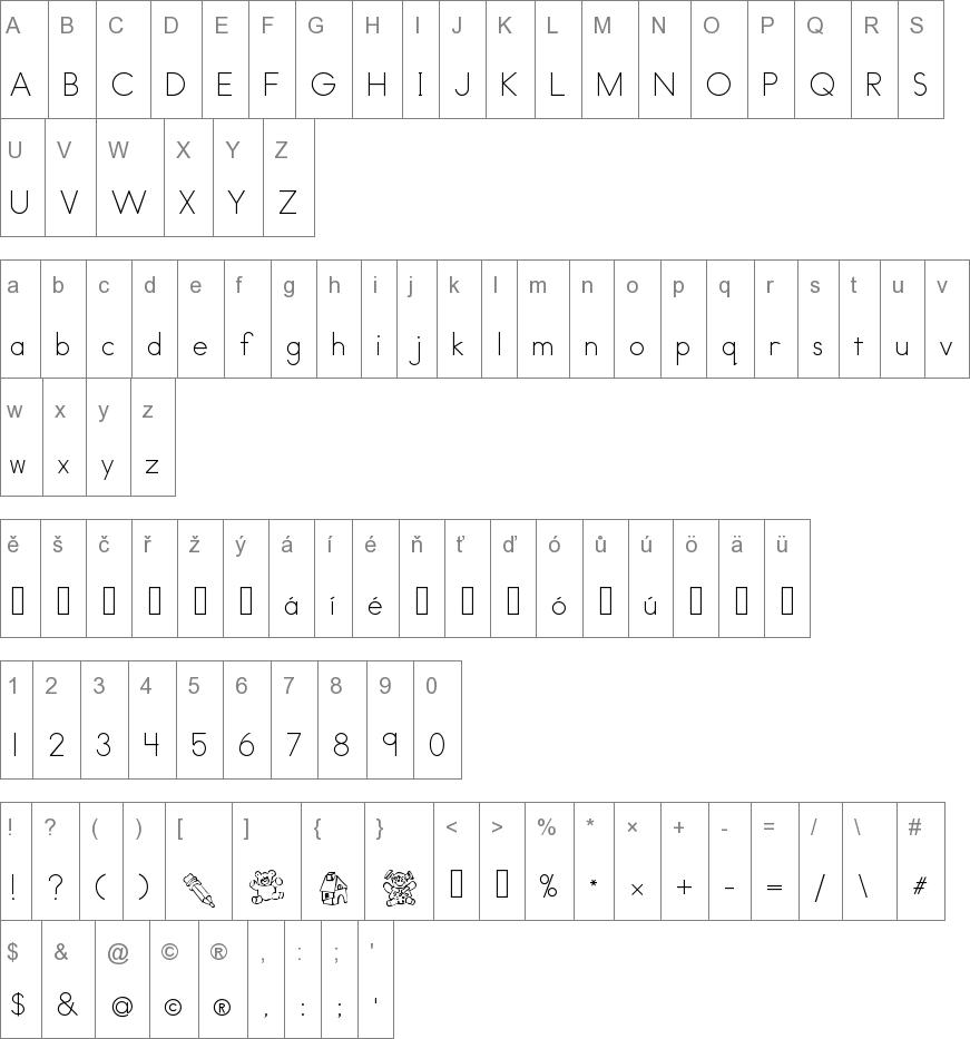 ABC Print Font free download | Technology | Print fonts