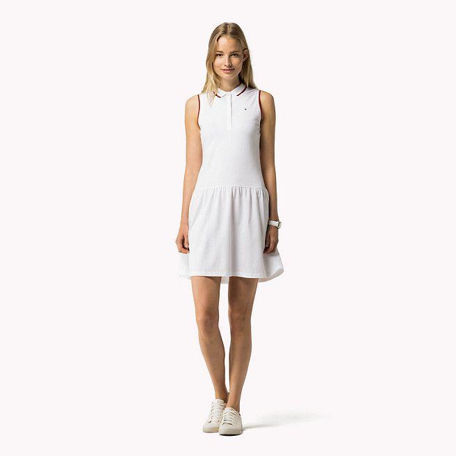 a143f41f Tommy Hilfiger Sleeveless Polo Dress - classic white (White) - Tommy  Hilfiger Dresses - main image