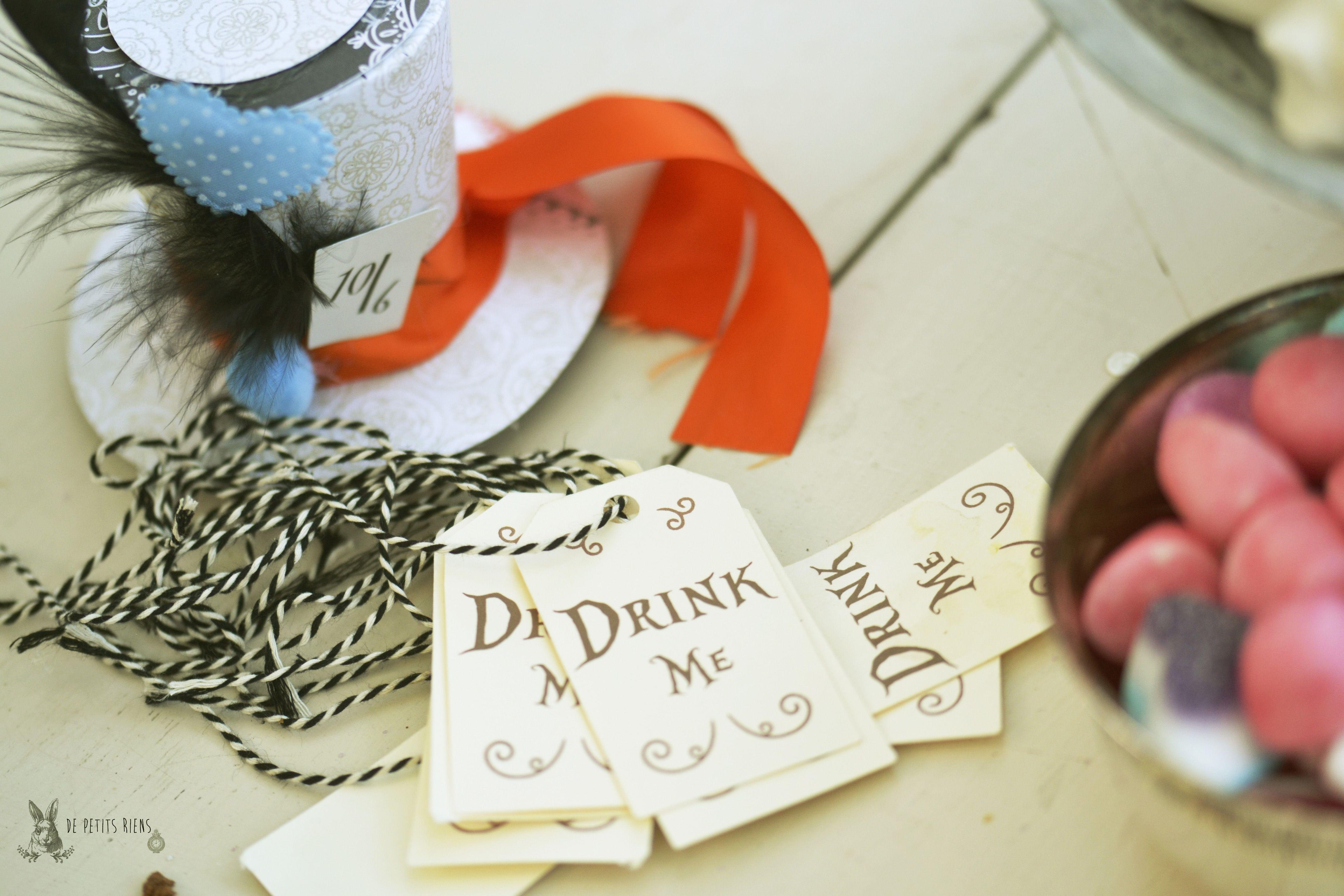 étiquettes, tag Alice in wonderland tea party http://www.alittlemarket.com/boutique/de-petitsriens