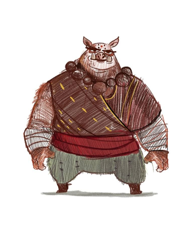 The mighty Shaolin Master Zhu high rank chef and martial arts master by valquiem
