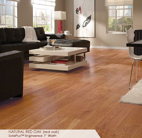 Somerset Floors Wide Plank Collection Natural Red Oak
