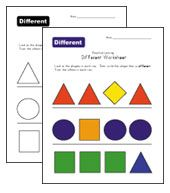 same and different worksheets | Kinder Reading | Pinterest | Lernen ...