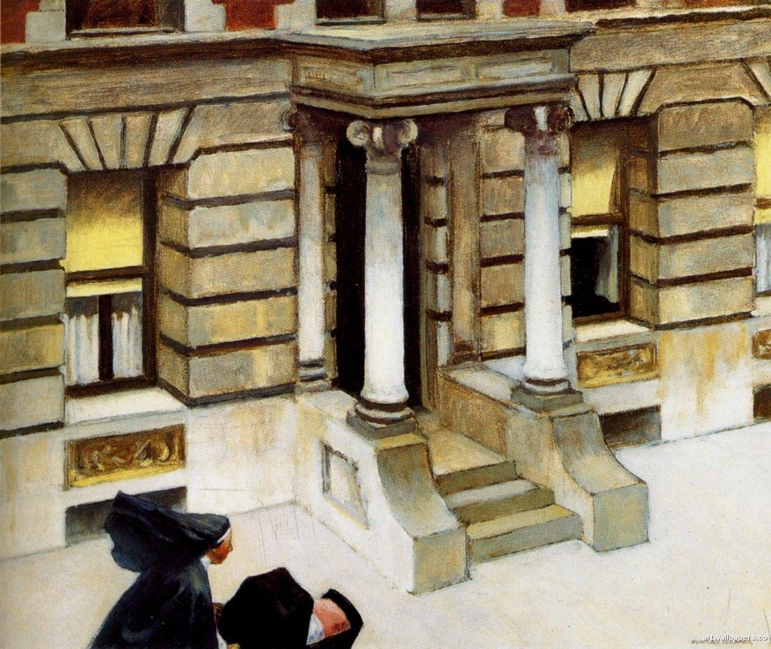 Edward Hopper Paintings Repinned Anjo Quist