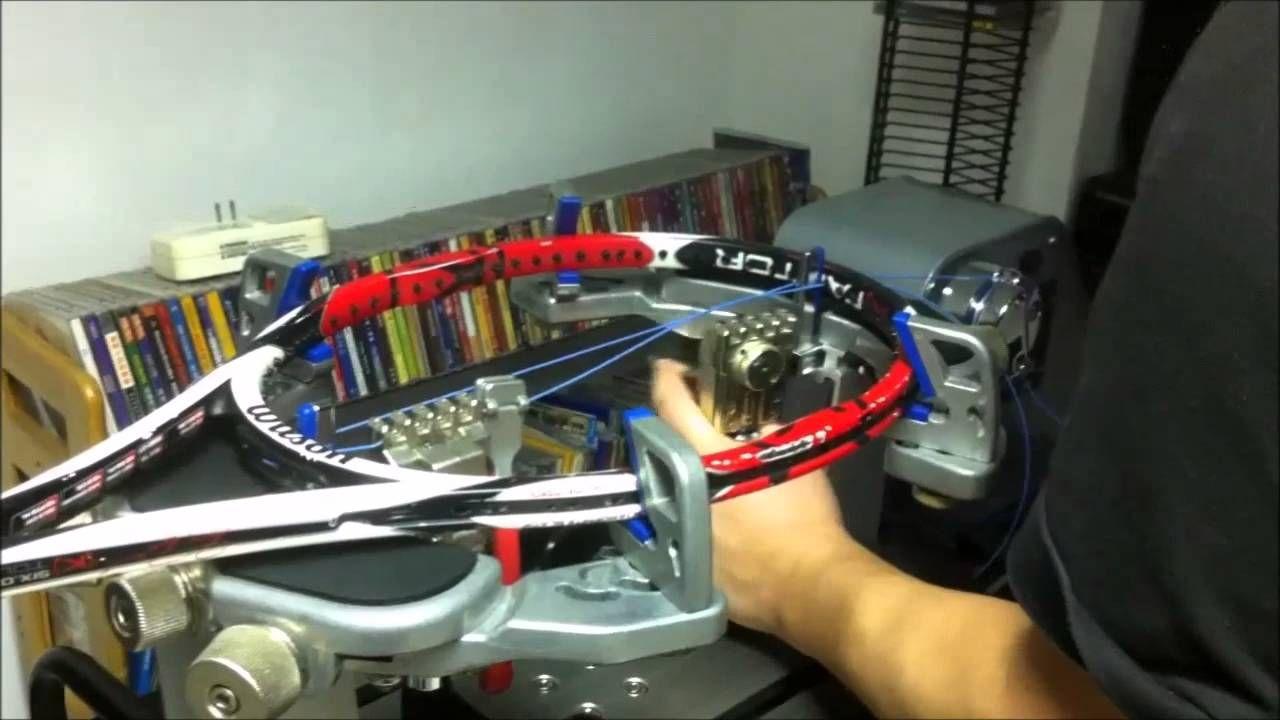 Stringing tennis racquet , Racquets, Tennis racquet, Tennis