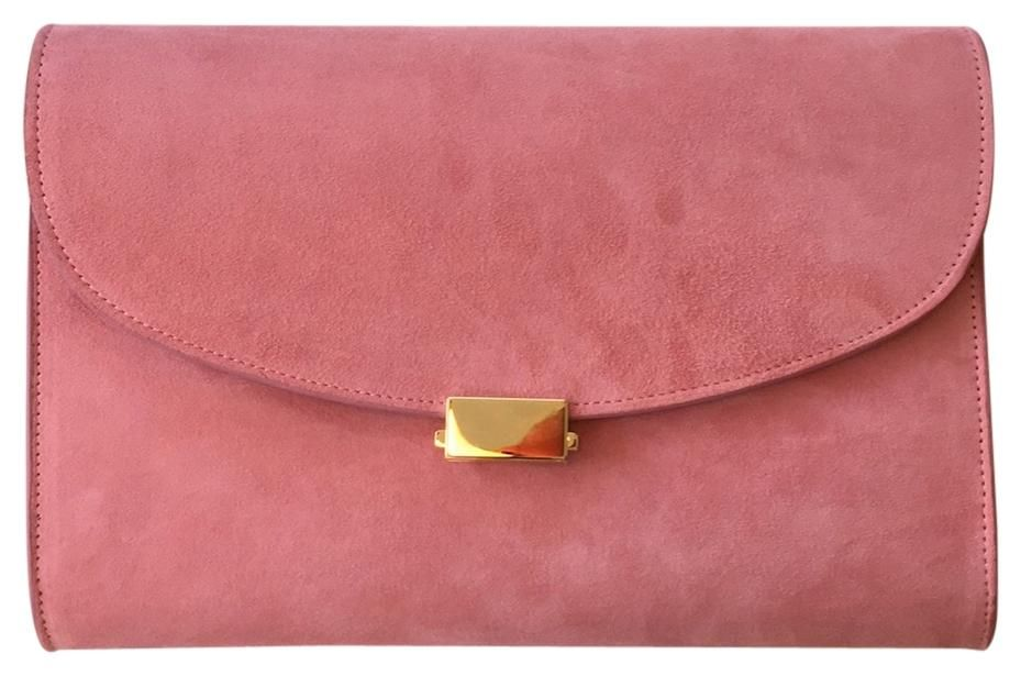 Mansur Gavriel Flat Rosa Clutch. Get the trendiest Clutch of the season! The Mansur Gavriel Flat Rosa Clutch is a top 10 member favorite on Tradesy. Save on yours before they are sold out!