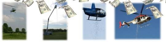 Helicopter Golf Ball Drop New Fundraising Idea Give Away Large