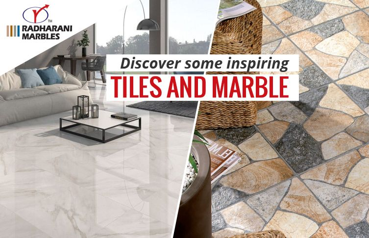 Discover some inspiring #Tiles and #Marble.
